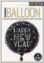 "Neon Dots New Years Eve 18"" Foil Balloon"